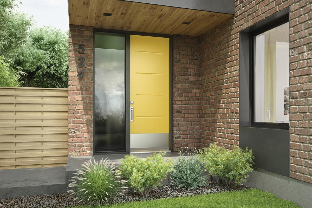 Exterior Door Collections – Cambridge Smooth Steel