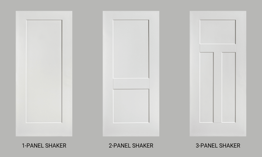 Shaker Style – Smooth Steel Exterior Doors