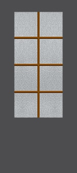 Exterior Door Glass – Simulated Divided Lites