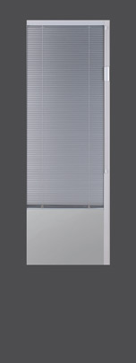 Exterior Door Glass – Blinds